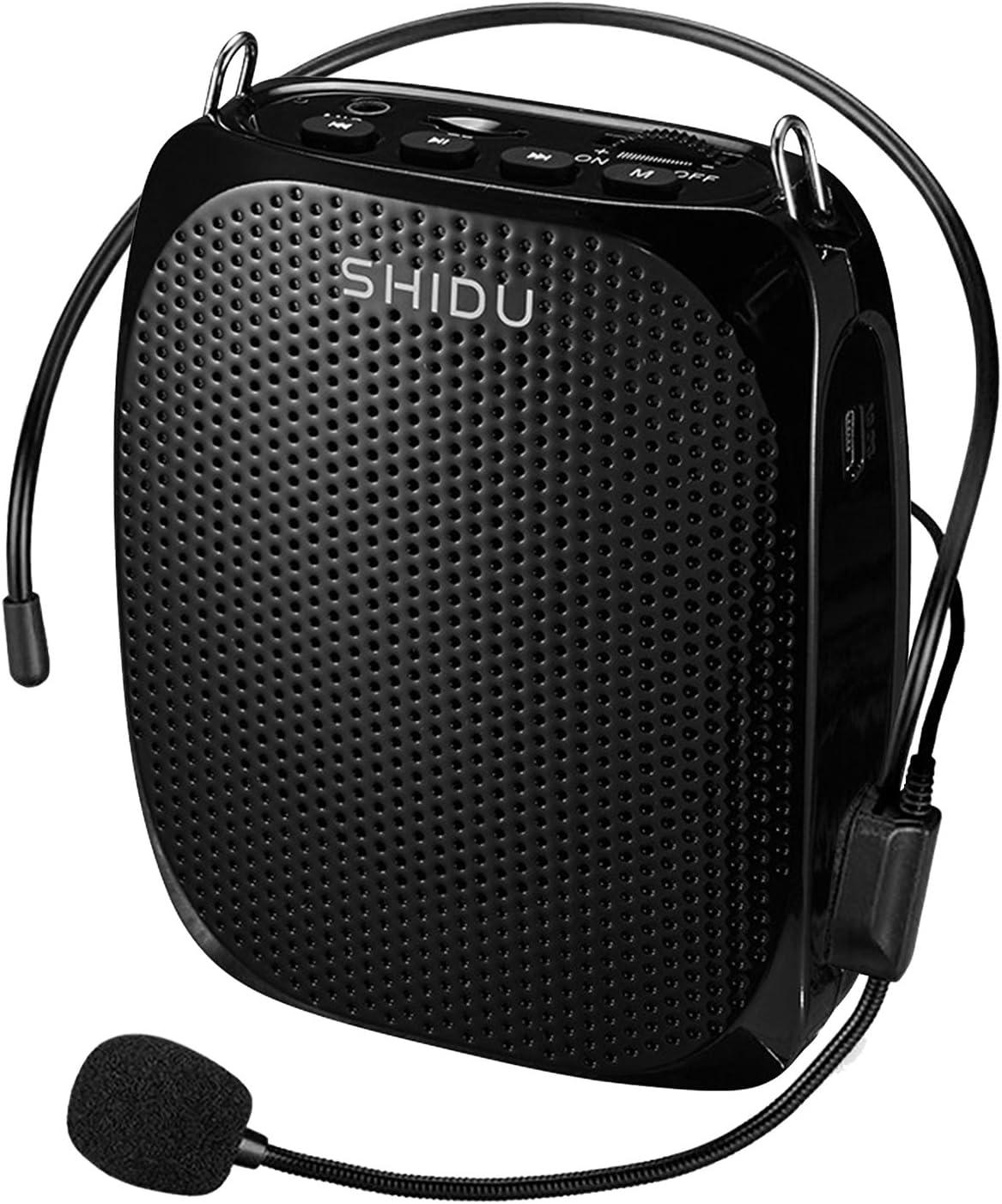 Portable Voice Amplifier 10W Rechargable Wireless Microphone