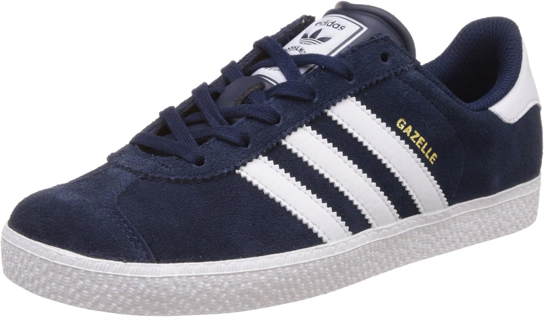 adidas Gazelle 2 J, Chaussures de Sport Mixte Bébé, Bleu ...