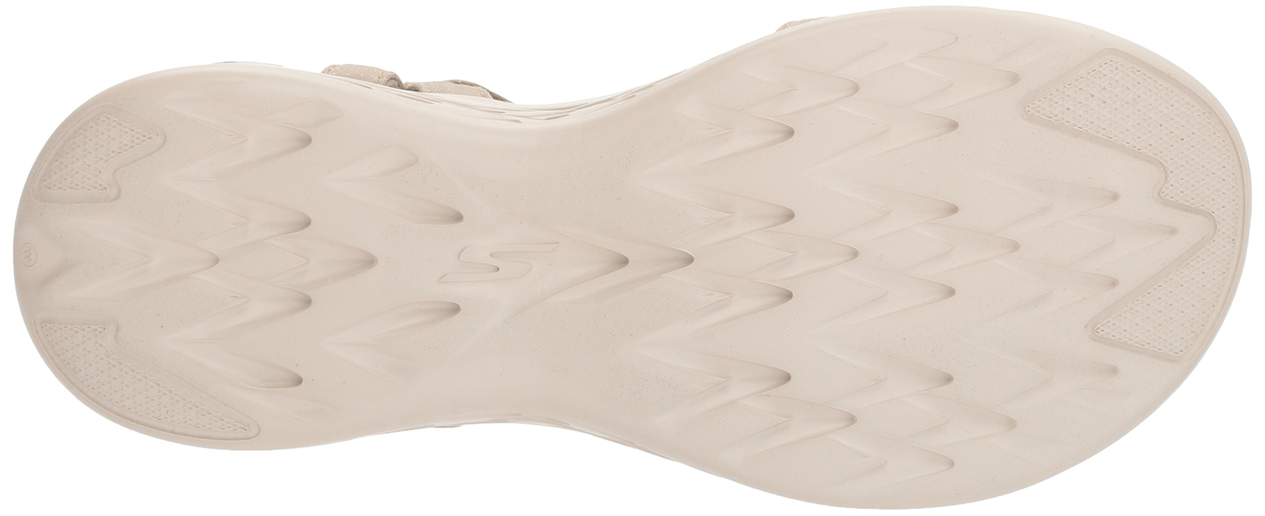 Skechers Performance Women's on-The-Go 600-Brilliancy Wide Sport Sandal,Natural,6 W US by Skechers (Image #3)