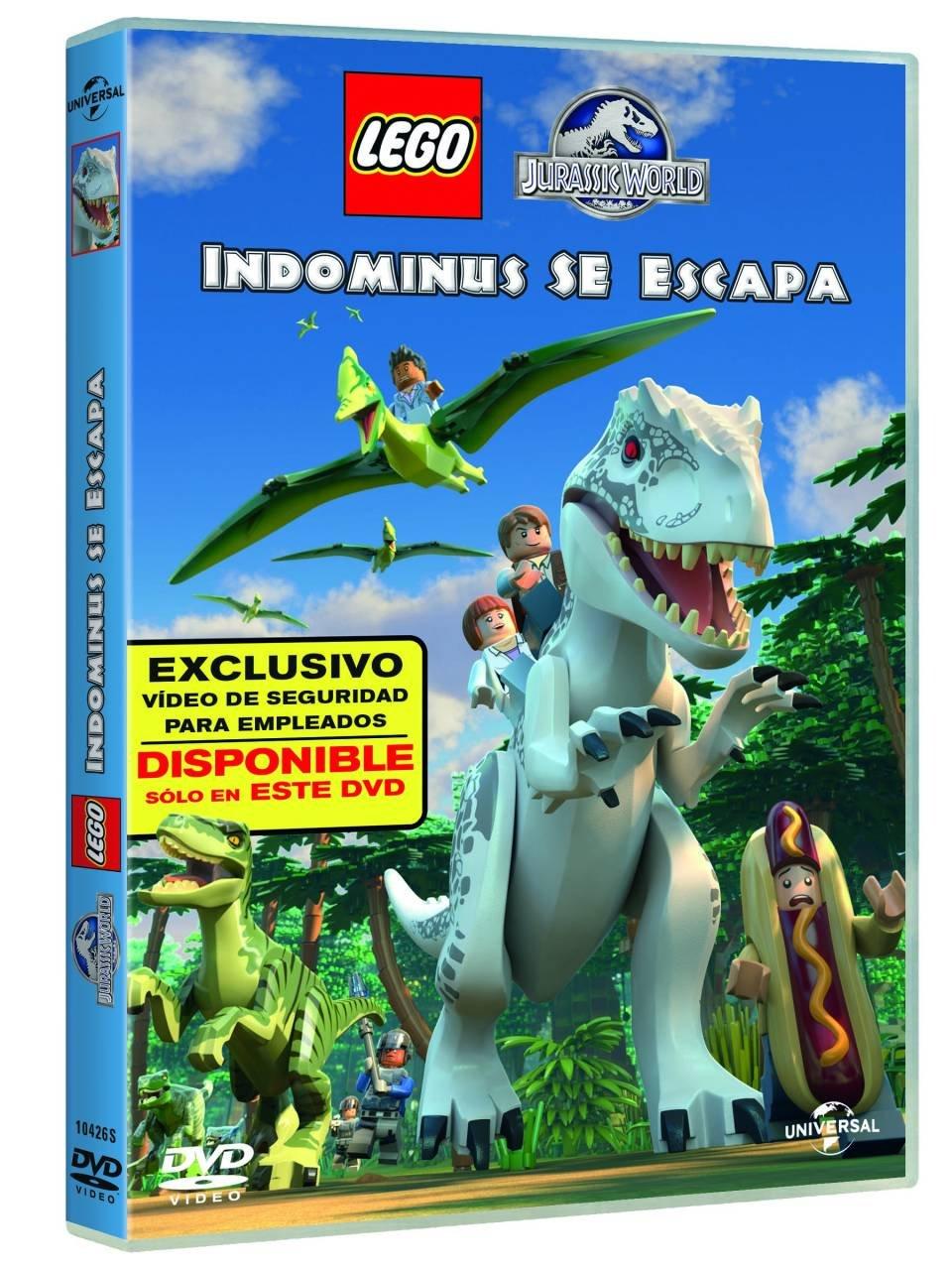 Jurassic World Lego: Indominus Se Escapa [DVD]: Amazon.es: Jake ...