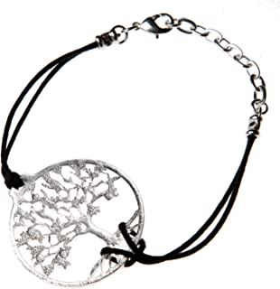 product image for From War to Peace Tree of Life Silver Dipped Adjustable Bracelet