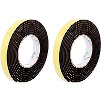 sourcingmap® 2 PC 20mmx4mm sola cinta Esponja cara