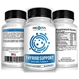 Thyroid Support Supplement with Iodine - Energy, Metabolism & Focus-with B12, Ashwagandha, and more - 30 Day Supply