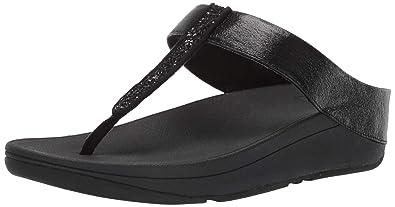 0f7f17d1ac36 Fitflop Women s Fino Glitzy Flip-Flop  Amazon.co.uk  Shoes   Bags