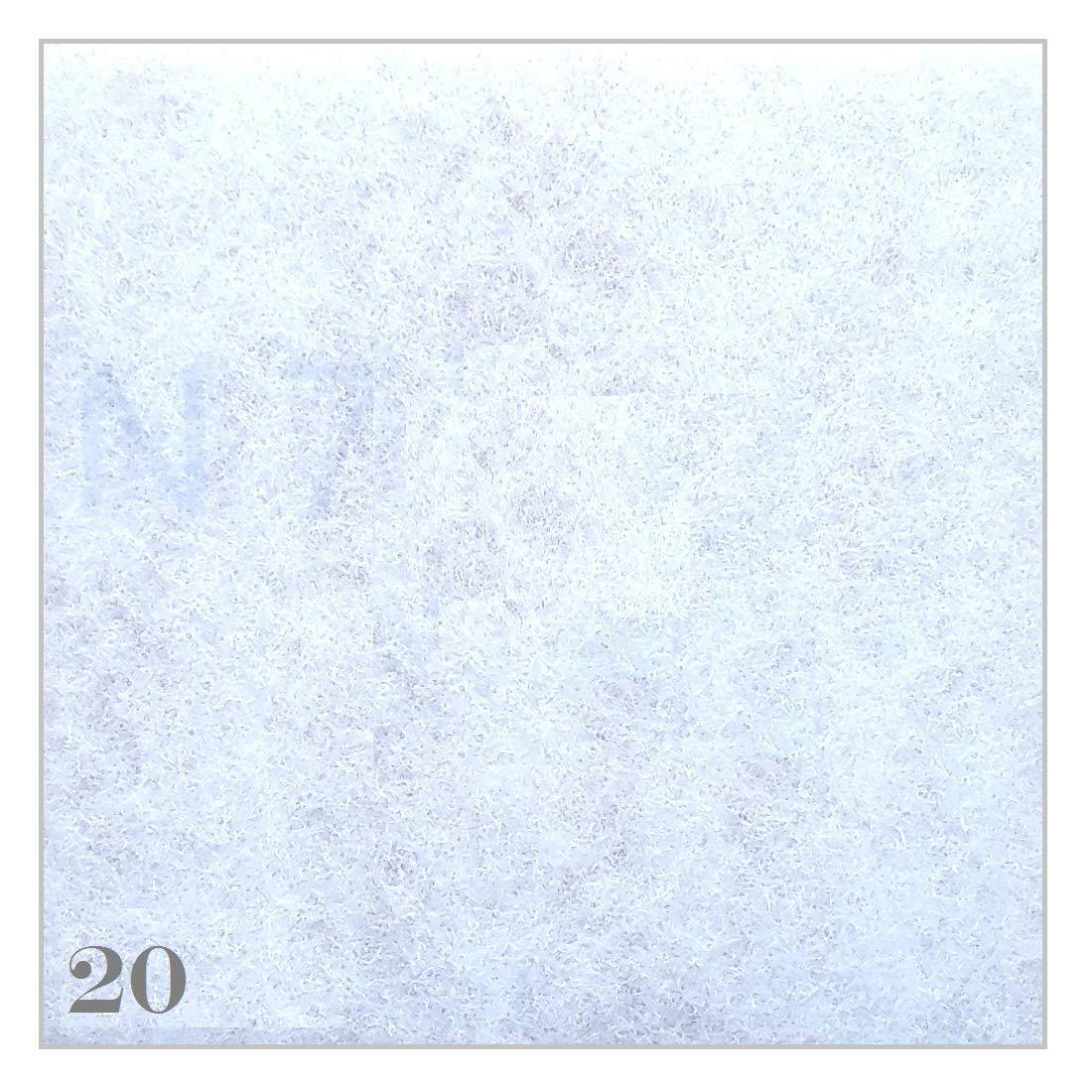 20 Filter Ersatzfilter fü r Meltem Lü fter Ventilator Serie G4 ab Bj 92 -150x150 mm - Filterklasse G2 - GF 0198 RG Filtermedien