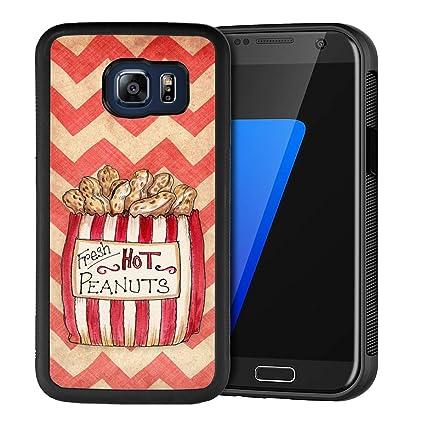 Amazon.com: Peacock - Carcasa para Samsung Galaxy S6 (goma ...