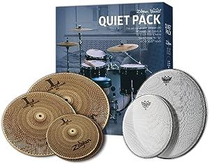 Zildjian L80 Low Volume Cymbal Pack - LV468 w/ Remo SilentStroke Heads