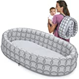 Lulyboo Bassinet to-go Classic Travel Infant Bed - Foldable Cozy Baby Lounge