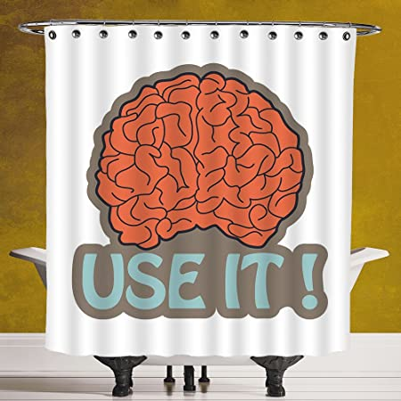 Stylish Shower Curtains Neon Light Digit Alphabet Character Two Font ...