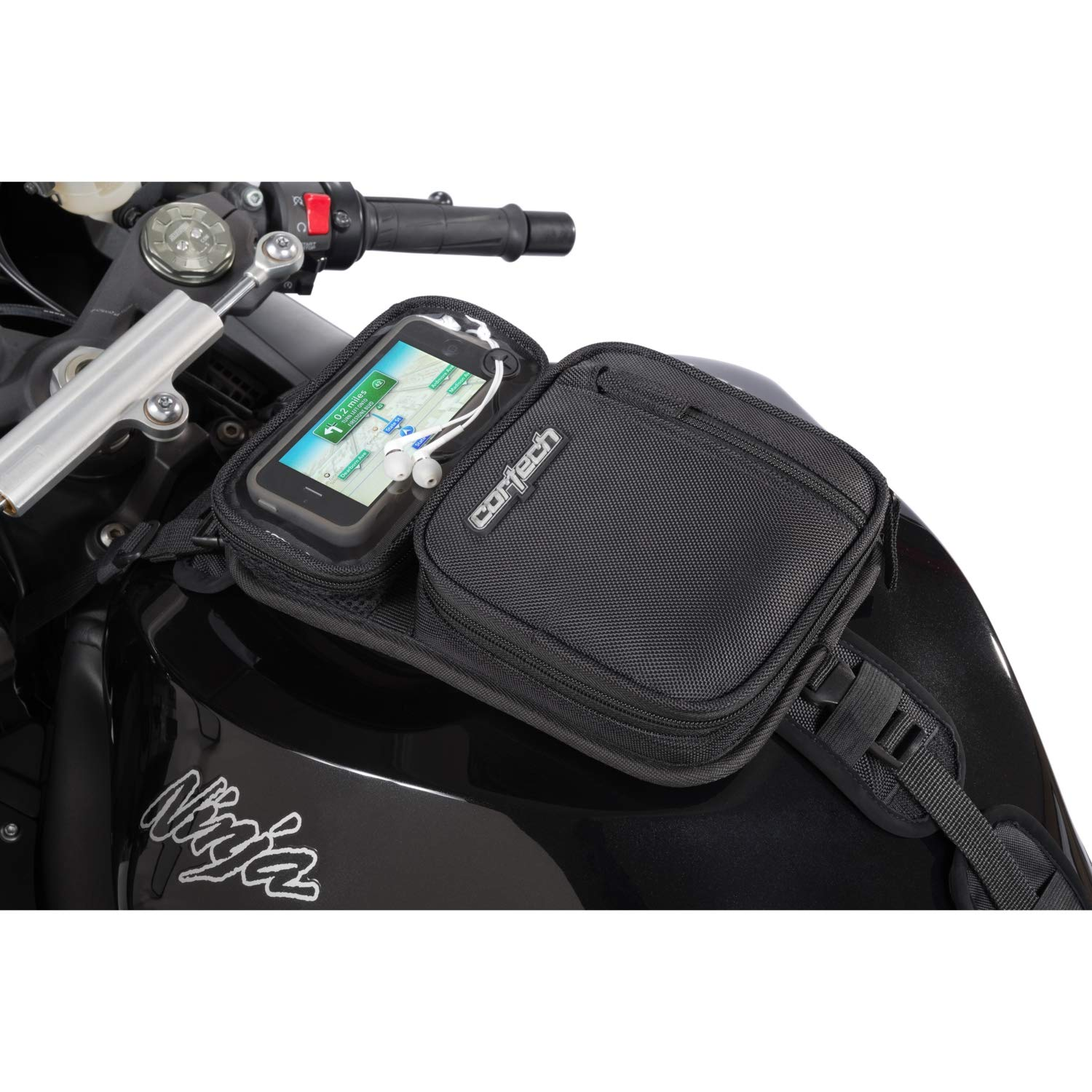 Cortech 8225-2405-00 Black Micro 2.0 Tank Bag