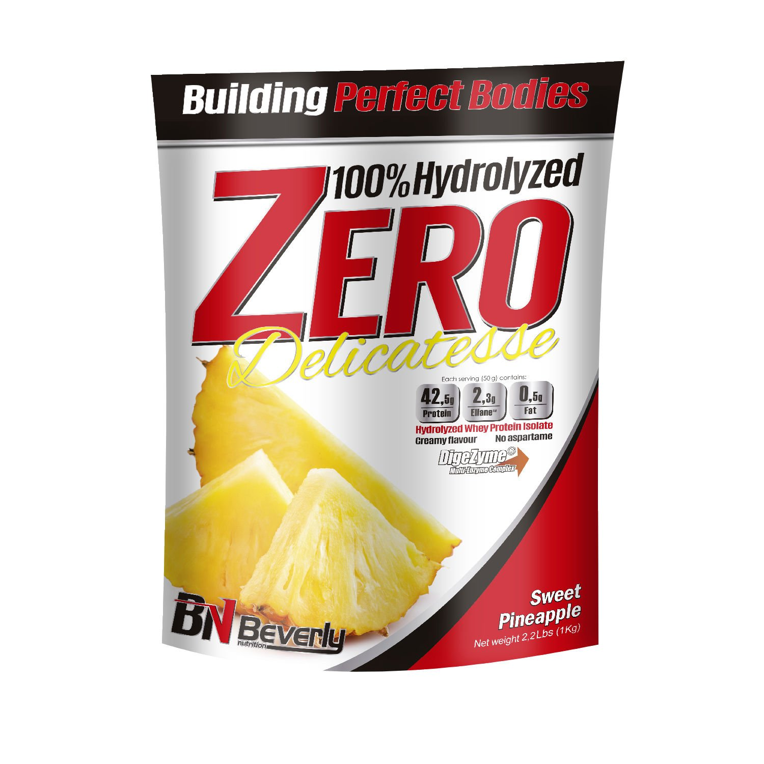 Beverly Nutrition For Absat40 Hydrolysed Whey Sweet Pineapple Anabolic Protein Professional Muscle Growth Mass Gainer 1kg