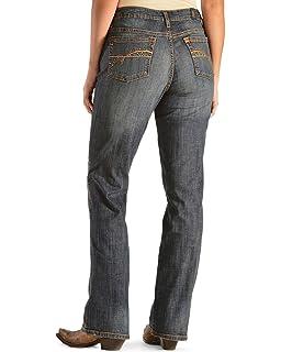 Amazon Women's Cowboy Cut Natural Fit Jean At Waist Wrangler Slim 8wnmN0