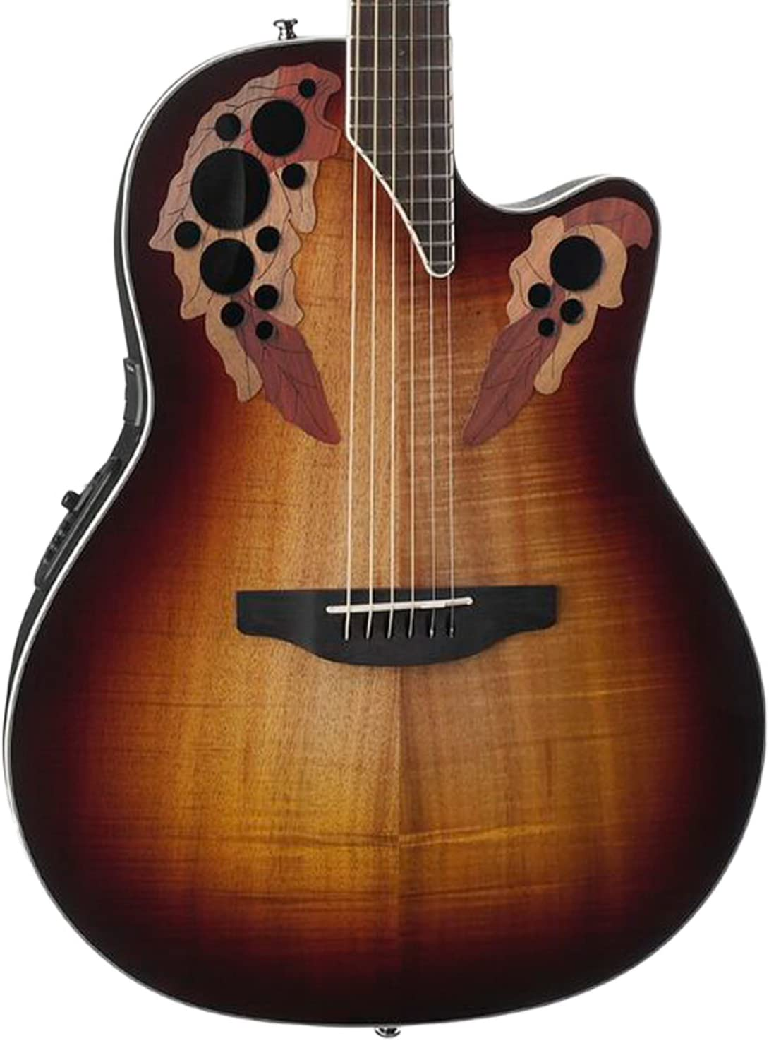 Ovation Celebrity Elite Plus - Super Shallow - Koa Burst CE48P ...