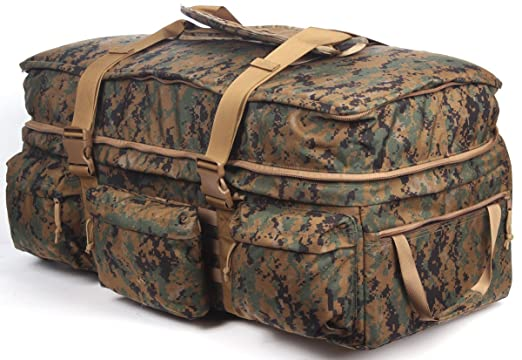 df98a3296176 Amazon.com   Sandpiper of California Digital Woodland Rolling Loadout  Luggage X-Large Bag   Sports   Outdoors