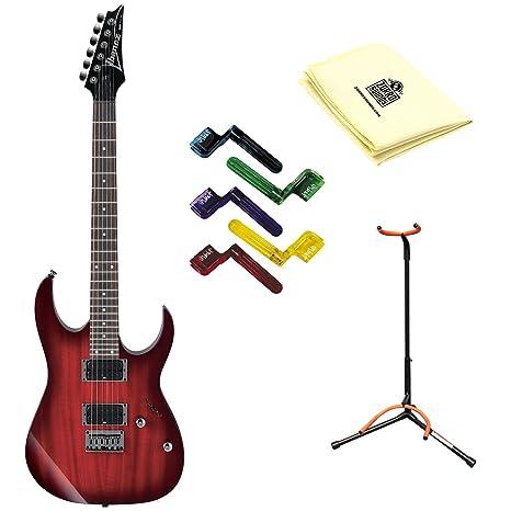 Ibanez rg421 guitarra eléctrica Blackberry Sunburst con gamuza de ...