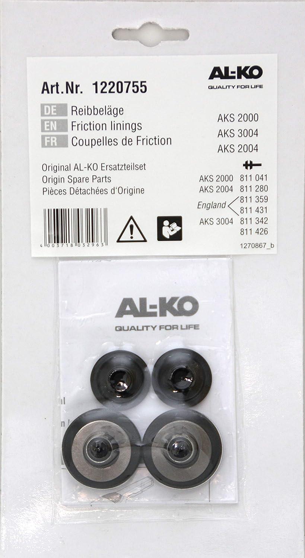 AL-KO Reibbelag f/ür AKS 2000 ab /´97 AKS 2004 AKS 3004