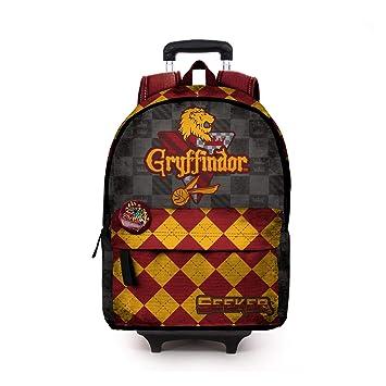 Karactermania Harry Potter Quidditch Gryffindor-Mochila HS con Carro Mochila Tipo Casual, 51 cm, 23 litros, Rojo: Amazon.es: Equipaje