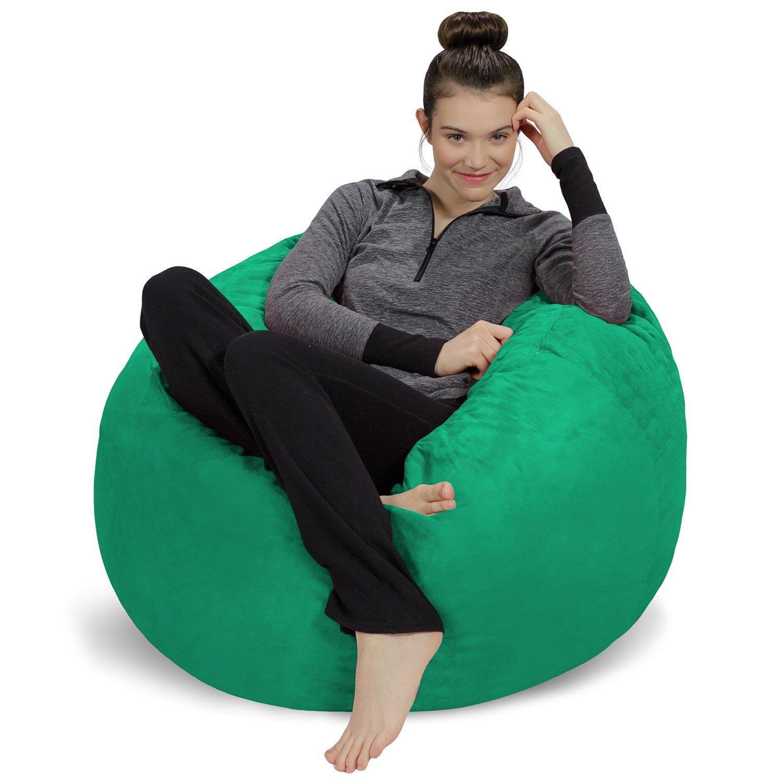 3 Lime Sofa Sack-Bean BagsBean Bag Chair