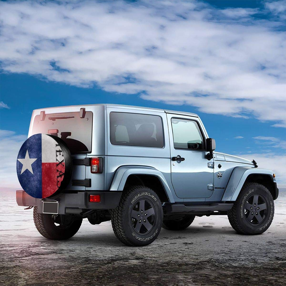 SUV,Camper Accessories and Various Vehicles 14 15 16 17 Surplus rose Texas Lone Star Car Tire Cover Universal Spare Wheel Tire Cover Wheel Covers for Trailer RV