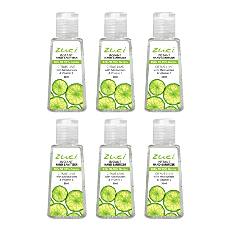 Buy Zuci Citrus Hand Sanitizer Pack Of 6 Online At Low Prices In
