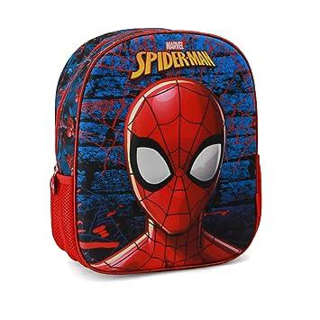 Karactermania Spiderman Hero Mochila Infantil, 31 cm, Azul: Amazon.es: Equipaje