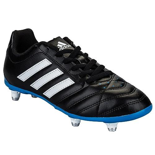 new products aa9ed 90c8d italy adidas scarpe da calcio bambini nero blue nero nero 19.5 61036 8a76a