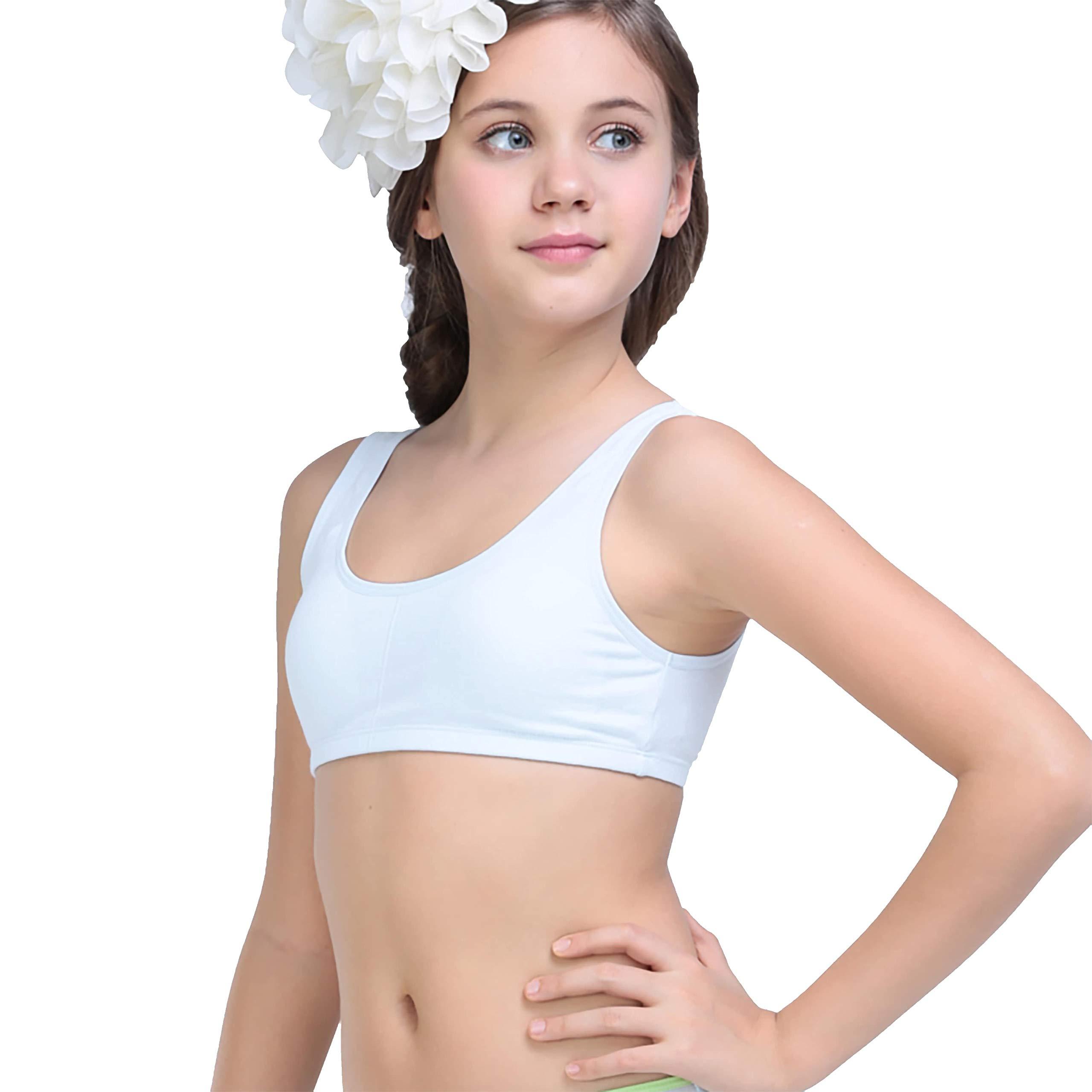 ADMIRE Girls Cotton Sport TOP PACKOF2 (13-14 Years, White) (B07QDJTRJY) Amazon Price History, Amazon Price Tracker