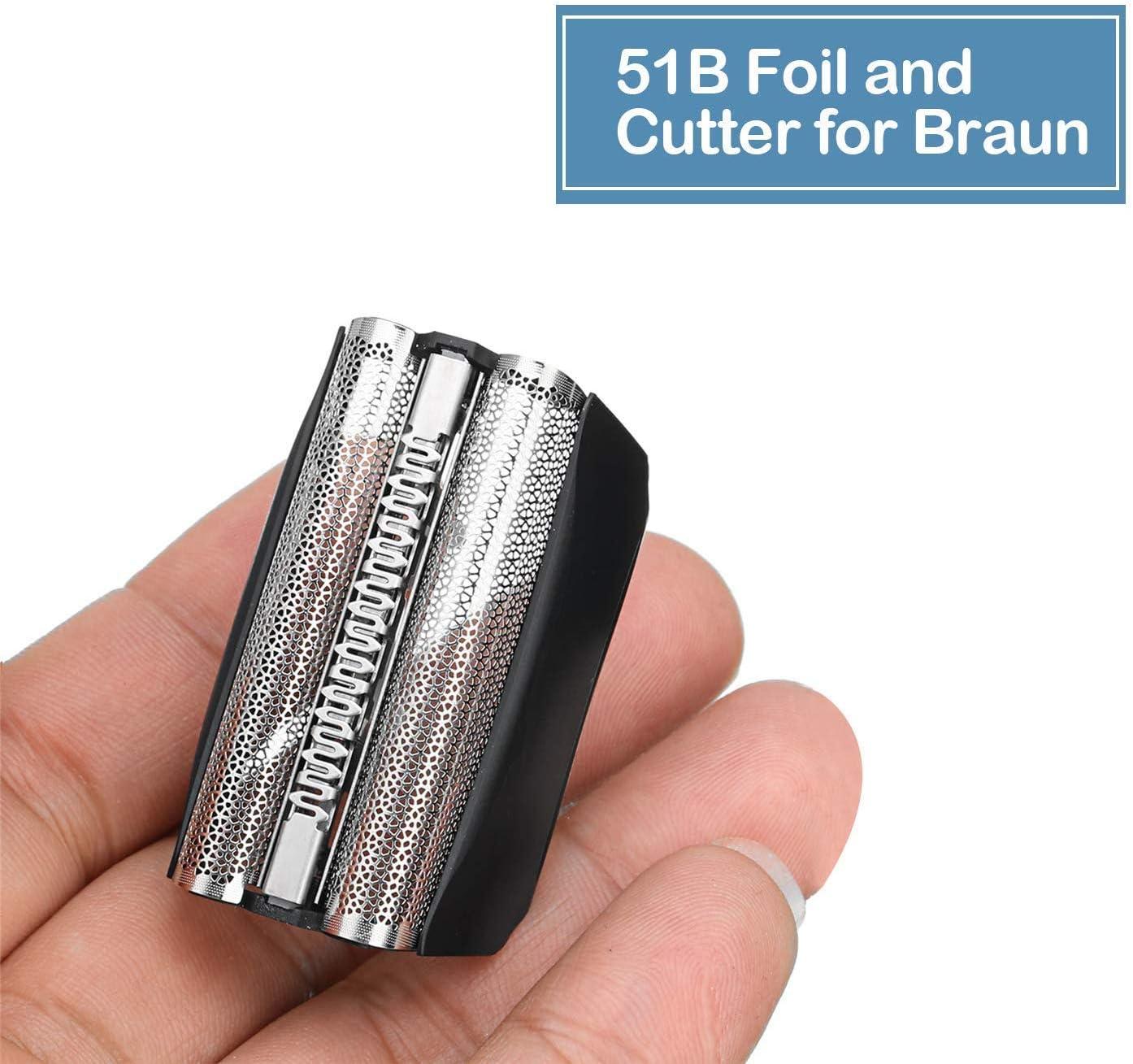 51B Cabezales de Afeitar para Bruan Serie 8000 WF1S WF2S ...