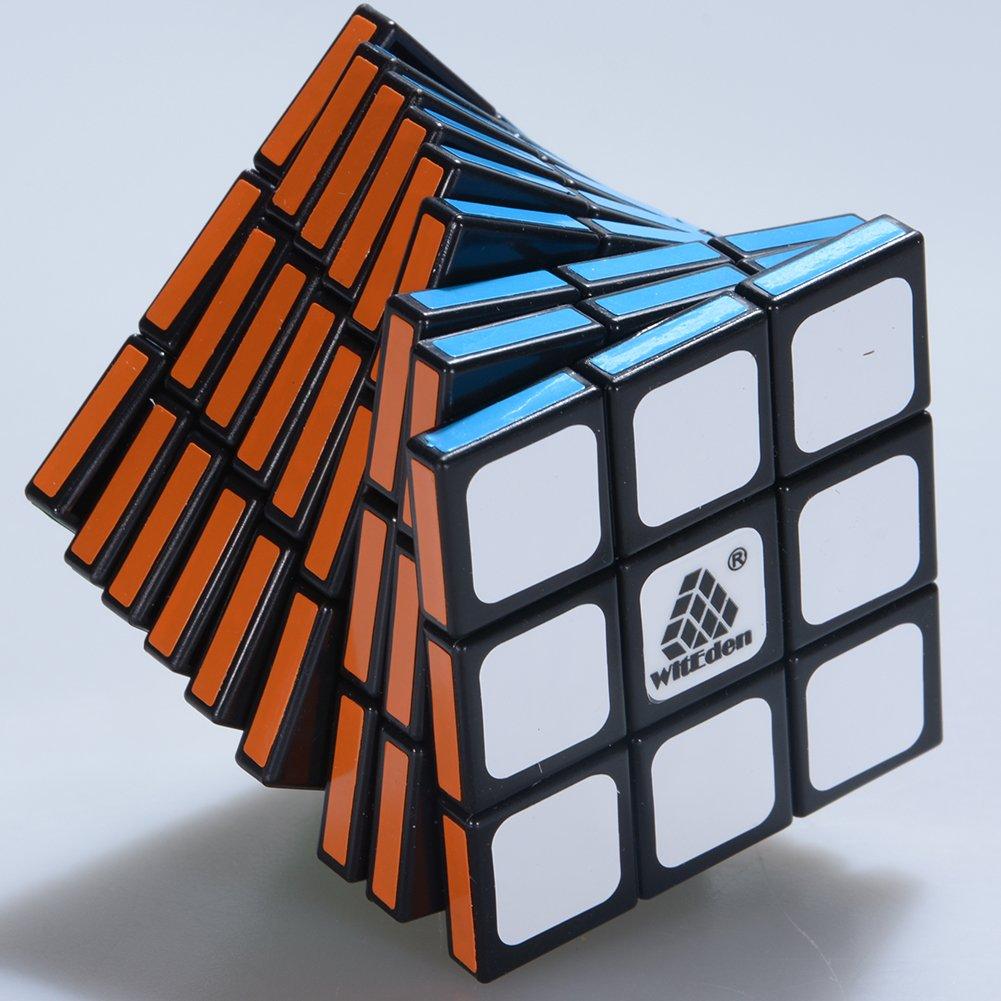 Generisches Super Magic Cube 3X3X9 Schwarz