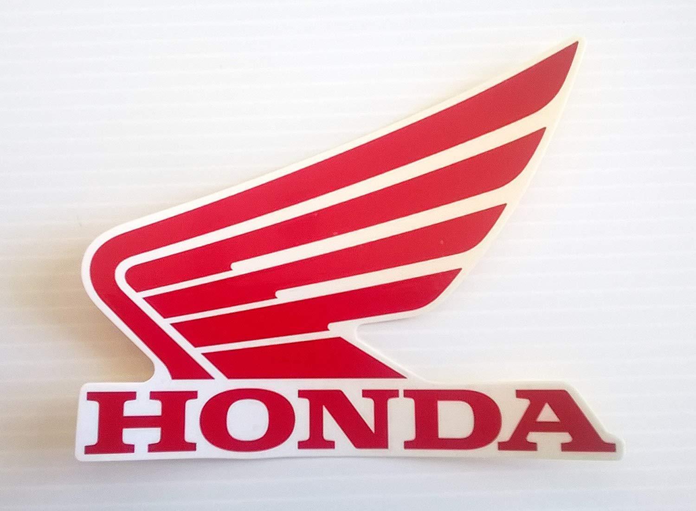 Honda Alas Dep/ósito De Combustible Tanque De Combustible Adhesivos Pegatinas 2 x 85mm ROJO BLANCO Izquierda Y Derecha 100/% GENUINE