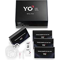 Refill Kit | 4 Additional Tests for YO Home Sperm Test | Motile Semen Analysis | YO Testing Device NOT Included - Refill Pack Only | Choose: 2 Pack, 4 Pack
