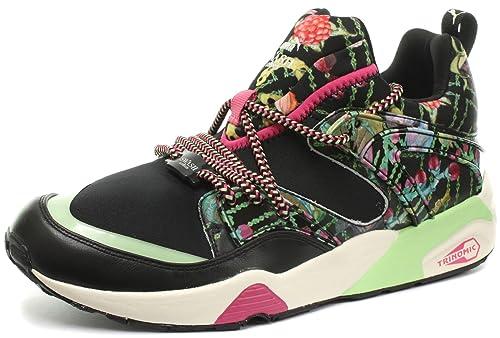 Puma Women s Blaze Of Glory Wns X Swash W Black Sneakers - 4 UK India 5698e5d069