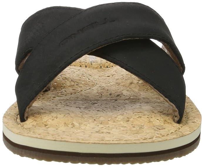 O'Neill Axed Crazy Horse Leather, Tongs Homme, Marron (Brown D47), 39 EU