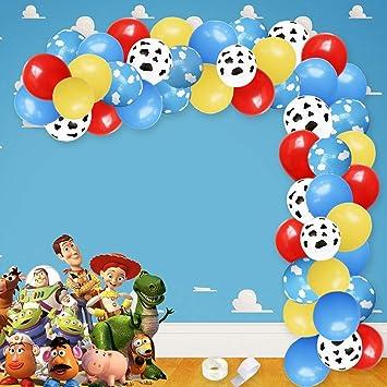 Meuparty Cloud Balloons Garland Arch Kit para avión Fiesta ...