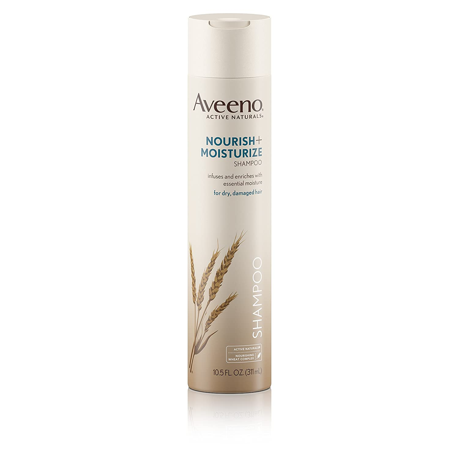 Aveeno Nourish+ Moisturize Gentle Hydrating Shampoo, 10.5 fl. oz (Pack of 2)
