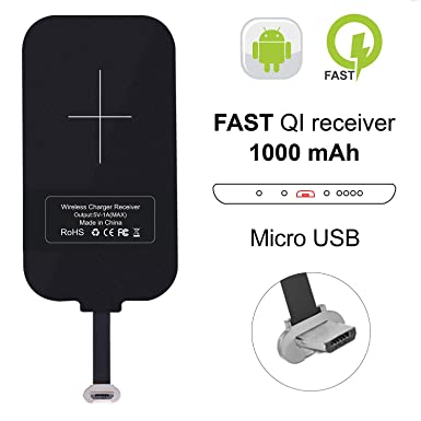 56770dd7873 Amazon.com: Nillkin Wireless Charger Receiver, Magic Tag Qi Wireless  Charger Charging Receiver Patch Module Chip for Samsung Galaxy J7/J3/J6/S5,  ...