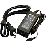 eLUUGIE Replacement AC Adapter for Sony AC-L200 ac adapter AC-L200C AC-L25 AC-L25A Sony DCR-SR60 DCR-SR80 DCR-SR68 HandyCam HDR-CX550 HDR-CX550V sony cybershot Charger