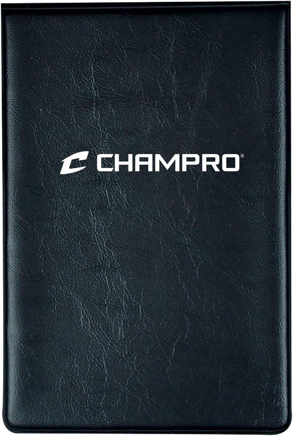 Black CHAMPRO Line-Up Card Wallet Book Flip AF22