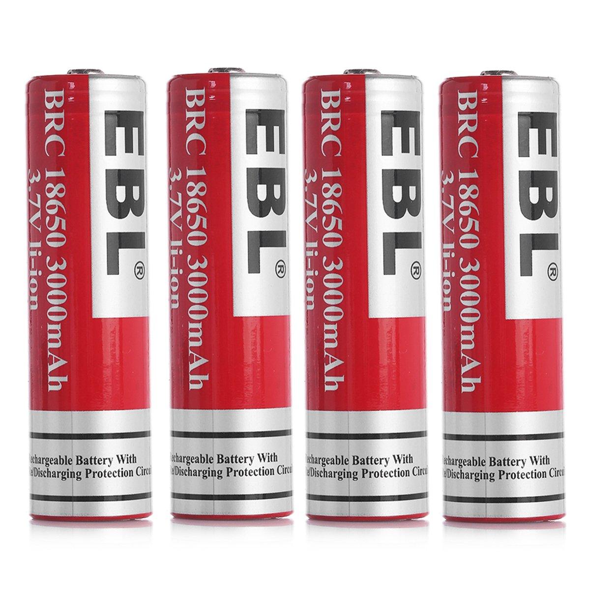 EBL Battery 3.7V 3000mAh