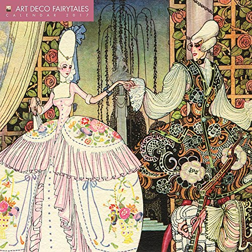 Art Deco Fairytales 2017 Wall Calendar