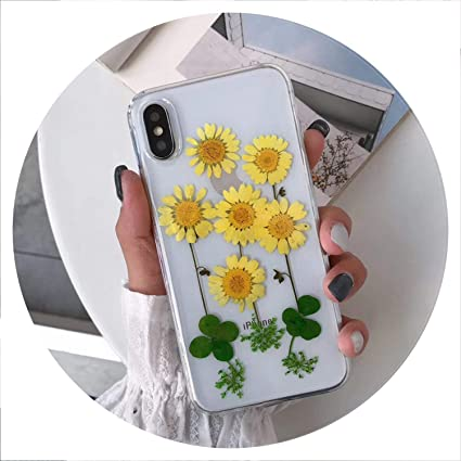 Fine Amazon Com Real Pressed Dried Flowers Phone Case For Iphone Caraccident5 Cool Chair Designs And Ideas Caraccident5Info