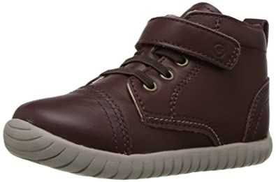 sports shoes a396e 36ea2 Stride Rite Boys  SRTech Carlo Ankle Boot, Brown, 4 M US Toddler