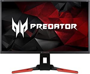 Acer Predator XB321HK bmiphz 32-inch IPS UHD (3840 x 2160) NVIDIA G-Sync Widescreen Display (2 x 2w speakers, 4- USB 3.0 Ports, HDMI & Display Port),Black
