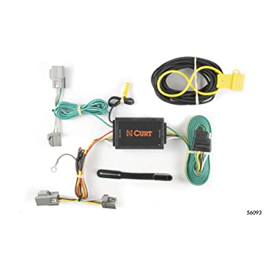 CURT 56093 Vehicle-Side Custom 4-Pin Trailer Wiring Harness for Select Ford Taurus, Lincoln MKS: Automotive