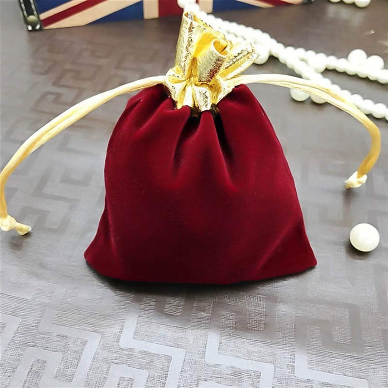 Fiesta del año navideño Lucky Bag con Regalo Sorpresa Gratis, Cajas para Bolsas de Regalo de Boda Bolsas de joyería Suave Bolsa de Regalo pequeña