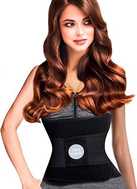 Body Trainer Shaper Trimmer Anti Cellulite Corset Waist Weight Top Lose Wra I9W0