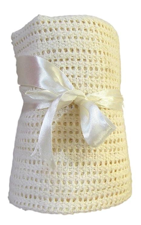 1 x crema celular carrito/Moses cesta manta – 100% algodón