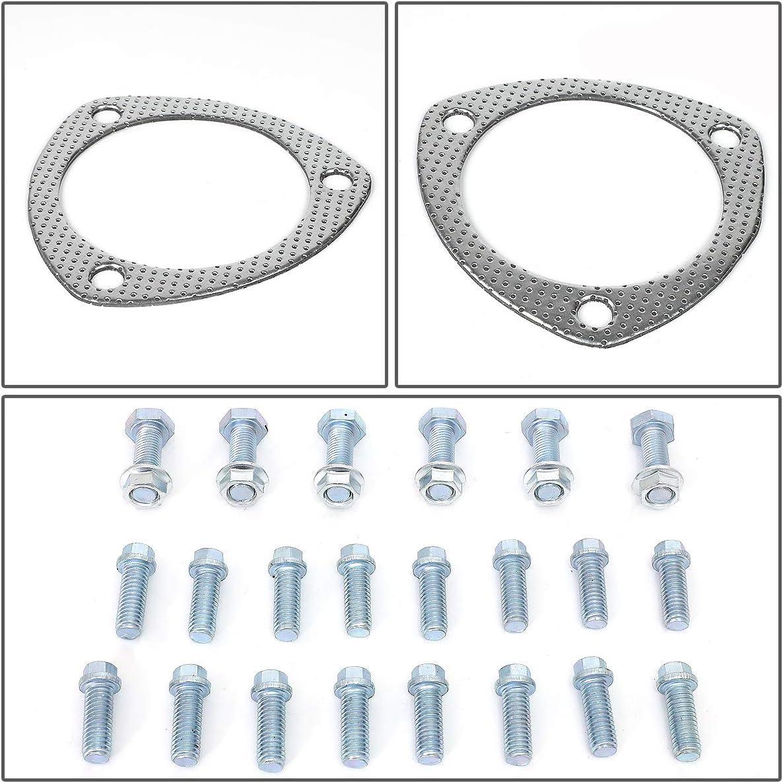 DNA Motoring GKTSET-BBC-82L Aluminum Exhaust Manifold Header Gasket Set Replacement