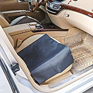 Car Transfer Aid Easy Slide Sheet Positioning Patient Transfer Device Slip Slider Sheets for Vehicles Wheelchairs Bed Turning Repositioning Hospitals and Home Care Assist Moving Elderly Disabled
