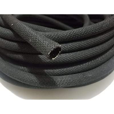 "10 feet 3/4"" I.D. Asphalt Cloth Wire Loom Original Restoration Conduit Vintage Quality Accessories for Motorcycle Car Tuning by Tuning_Store: Home Improvement"